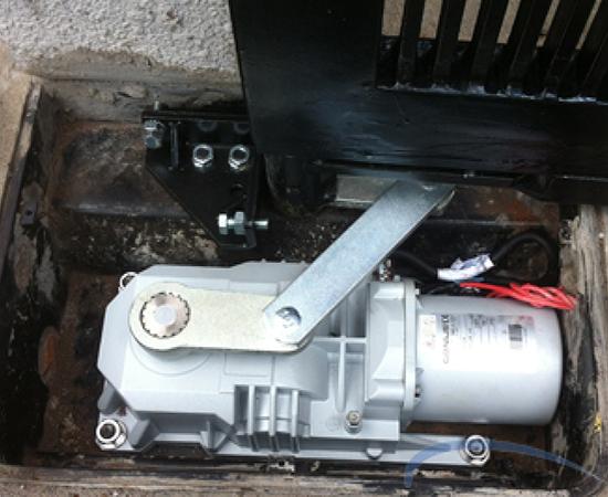 Motor cổng âm sàn Faac Roller 24v/500kg
